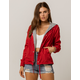 FULL TILT 2-Fer Knit Red Womens Coach Jacket