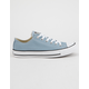 CONVERSE Chuck Taylor All Star Washed Denim Low Top Womens Shoes