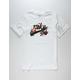NIKE Floral Logo Mens T-Shirt