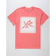 YOUNG & RECKLESS Square Logo Mens T-Shirt