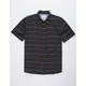 HURLEY Clifton Black Mens Shirt