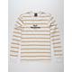 HUF Serif Stack Mustard Mens T-Shirt