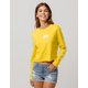 VANS Boxed V Yellow Womens Crop Tee