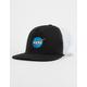 NEON RIOT Nasa Meatball Logo Trucker Hat