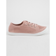 SODA Knitted Lace-Up Blush Womens Sneakers