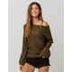 BILLABONG Rolled Up Womens Off The Shoulder Sweater
