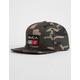 RVCA 9VOLT Camo Mens Snapback Hat