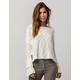 ROXY Ruffle Party Womens Sweater