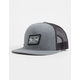 RIP CURL Pit Stop Charcoal Trucker Hat