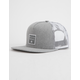 BILLABONG Stacked Grey Heather Mens Trucker Hat