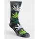 HUF Plantlife Strains Bubba Kush Mens Sock