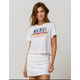 FULL TILT Merci Beaucoup Womens Crop Tee