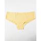 FULL TILT Laser Cut Yellow Panties