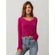 VOLCOM Clued 2 You Womens Crop Sweater