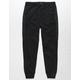 BROOKLYN CLOTH Nylon Black Boys Jogger Pants