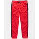 BROOKLYN CLOTH Stripe Tape Red Boys Jogger Pants