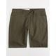 VOLCOM Gritter Thrifter Green Tea Mens Shorts