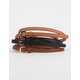 3 Pack Solid Belts