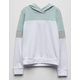 DESTINED Color Block Mint Girls Hoodie