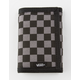 VANS Slipped Trifold Gunmetal Gray & Black Velcro Wallet