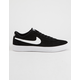 NIKE SB Bruin Low Black & White Womens Shoes