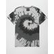 BLUE CROWN Spiral Grey Mens T-Shirt