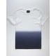 BLUE CROWN Dip Dye Mens T-Shirt