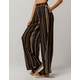 PATRONS OF PEACE Stripe Womens Wide Leg Pants