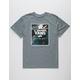 VANS Peace Out Floral Print Mens T-Shirt