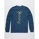 SALTY CREW You're Bit Harbor Blue Mens T-Shirt