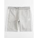 ADIDAS 3-Stripes Grey Boys Sweat Shorts