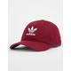 ADIDAS Originals Relaxed Burgundy Dad Hat