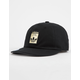ADIDAS Originals Relaxed Base Black Strapback Hat