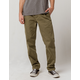 HUF Sutter Deep Olive Mens Chino Pants