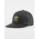 ADIDAS Original Trefoil Mens Faux Leather Snapback Hat