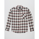 SHOUTHOUSE Rocco Mens Flannel Shirt