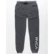RVCA VA Guard Black Boys Sweatpants
