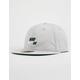 NIKE SB Vintage Pro Mens Gray Snapback Hat