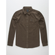 RVCA Le Fleur Brown Mens Shirt