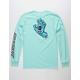 SANTA CRUZ Screaming Hand Mint Mens T-Shirt