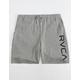 RVCA Kettle II Fleece Grey Mens Sweat Shorts