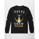SALTY CREW Tailed Black Mens T-Shirt