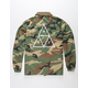 HUF Triple Triangle Mens Coach Jacket