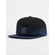 RVCA Dip Navy & Black Mens Snapback Hat