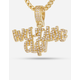 KING ICE x Wu-Tang Clan 14K Gold The Icon Necklace