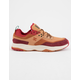 DC SHOES E. Tribeka SE Burgundy & Tan Mens Shoes