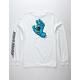 SANTA CRUZ Screaming Hand White Mens T-Shirt