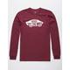 VANS OTW Burgundy Mens T-Shirt