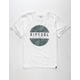 RIP CURL Mason Rockies White Boys T-Shirt