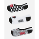 VANS 3 Pack Checkerboard Womens Canoodle Socks